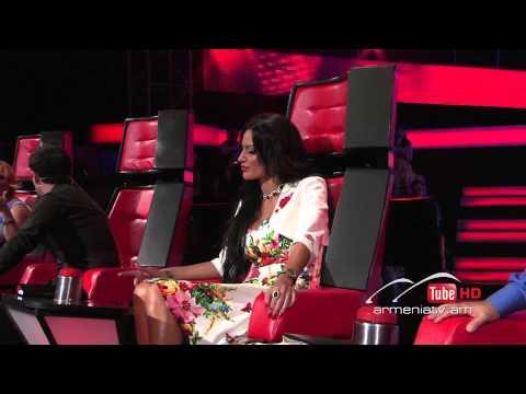 Tigran Qakhvejyan,Sex Bomb by Tom Jones -- The Voice of Armenia – The Blind Auditions – Season 3
