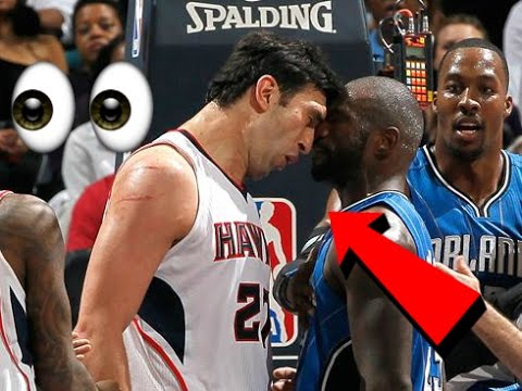 Zaza Pachulia DIRTY Flagrant Fouls, Technical Foul, Ejections, Flops, Fight Compilation