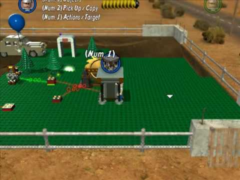 Lego Indy 2 Level Builder Gameplay Part3 