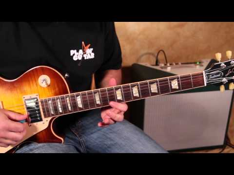 Led Zeppelin  Jimmy Page Inspired Guitar Lesson - Blues Rock Guitar Solo Licks
