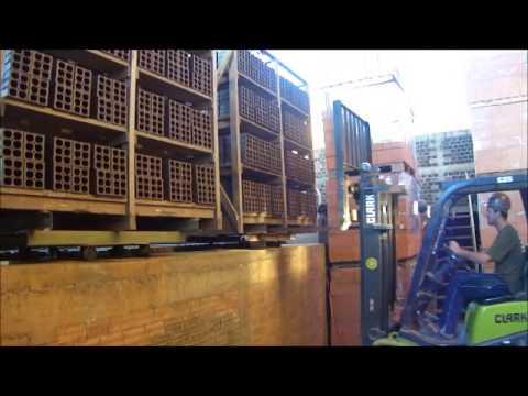 Cerâmica Sidval - Processo de produção de tijolos