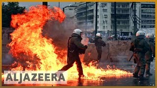 🇬🇷🇲🇰 Thousands protest in Athens against Macedonia name change | Al Jazeera English - ALJAZEERAENGLISH