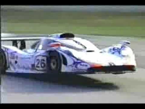 Acidentes de carros  Porsche GT-1