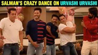 Prabhu Deva & Kiccha Sudeep URVASHI URVASHI Dance With Salman Khan | Dabangg 3 - RAJSHRITELUGU