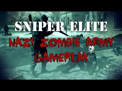 Sniper Elite: Nazi Zombie Army - Gameplay