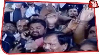 Congress के Jaipur दफ्तर में ज़ोरों शोरों से जश्न शुरू ! Election Results LIVE - AAJTAKTV