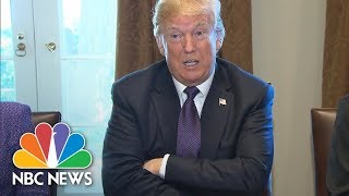 President Donald Trump Refutes Florida Congresswoman's Account Of Call To Soldier's Widow | NBC News - NBCNEWS