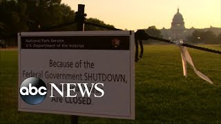 Latest on the government shutdown - ABCNEWS