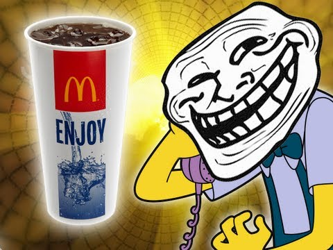 McDonalds Semen Coke - Prank call - (How to get a free meal) - Trolling all over the phone