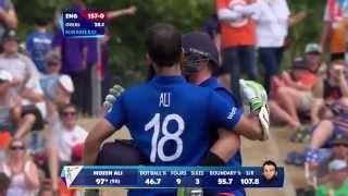 Eng vs Sco: Ali scores ton as England eye 300. Watch ICC World Cup videos on starsports.com - ESPNSTAR