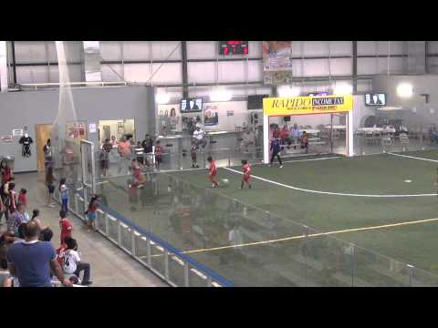 Golazo Soccer Youth League Boys(U-10)Final- Dallas Texans RGV(9) vs. Raptors(8) 1st half