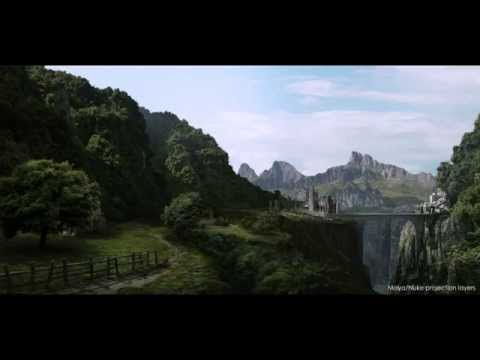 A Matte Painting / VFX Demo reel ( Vancouver Film School)