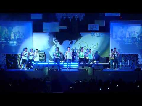 Zero Gravity ft. PLayBack - Daniel Padilla Concert (Front Act)