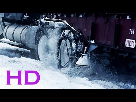 Extreme truck drivers in the snow!