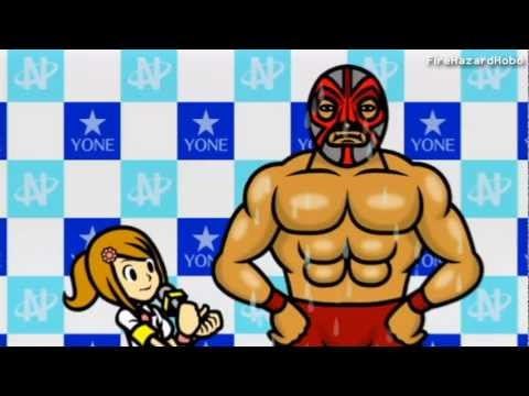 Minna no Rhythm Tengoku [Rhythm Heaven Wii] - Wrestler Interview