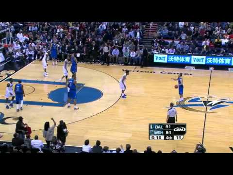 Nick Young sick 360 reverse layup vs. Mavericks (Feb. 26, 2011)