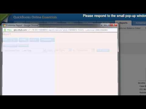 QuickBooks Online - How To Run A Profit and Loss By Customer