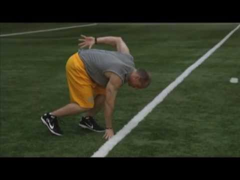Improving Football Speed: 40-Yard Dash How-To