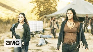 Fear the Walking Dead: 'Fighting Through the Horde' Talked About Scene Ep. 312 - AMC