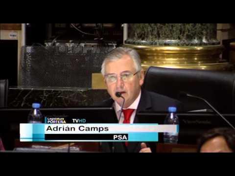 Adrián Camps (PSA) asume como legislador porteño 2015