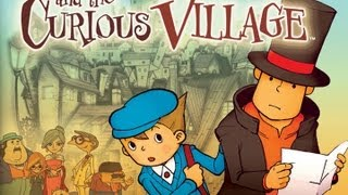 CGRundertow PROFESSOR LAYTON AND THE CURIOUS VILLAGE for Nintendo DS Video Game Review