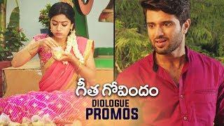 Geetha Govindam Back to Back Dialogue Promos | Vijay Devarakonda | Rashmika | TFPC - TFPC
