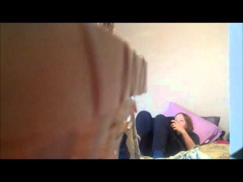 Spying on sleeping sisters