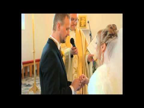 Wesele Magdy i Sylwka, kościół,przysięga,przywitanie chlebem i solą - Jan Paweł II o małżeństwie