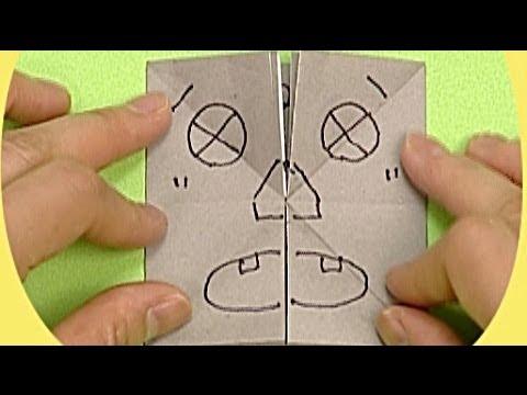 Çocuklar İçin Origami Face (Öğretici) – Kağıttan Arkadaşlar 11