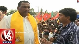 Malkajigiri Constituency TDP MP Candidate Mallareddy Face to Face - V6NEWSTELUGU