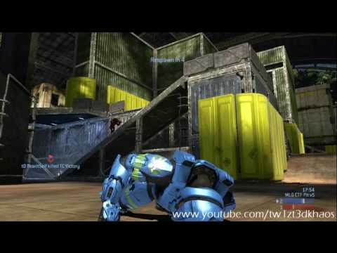 Team Classic vs Triggers Down - Pit CTF (AnnT POV) *Halo 3 Gameplay* HD - Part 2