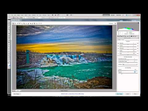 Niagara Falls - Nikon D7000 Hyper Real HDR Tutorial Using Adobe Photoshop CS5 HDR PRO