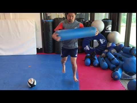 Standing Aquabag Rotation 1-2-3Stop