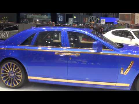 Mansory Rolls Royce Ghost Walkaround at the Geneva Auto Salon Motorshow 2010