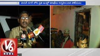 Police held cadron and search operation in Rajendranagar - Hyderabad - V6NEWSTELUGU