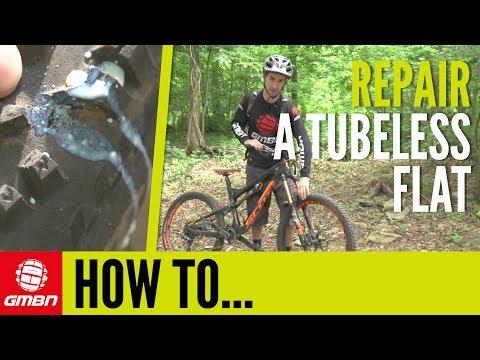 How To Repair Tubeless MTB Flats – Fix Your Mountain Bike Tubeless Tyres