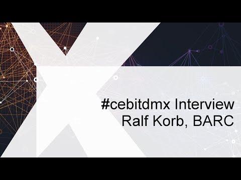 #cebitdmx Interview mit Ralf Korb, BARC