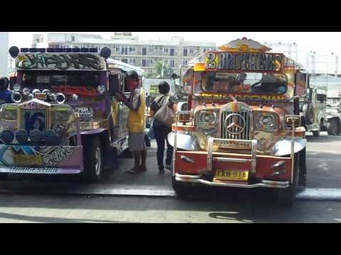 [HD] Jeepneys on Ortigas Ave & Shaw Blvd, Philippines
