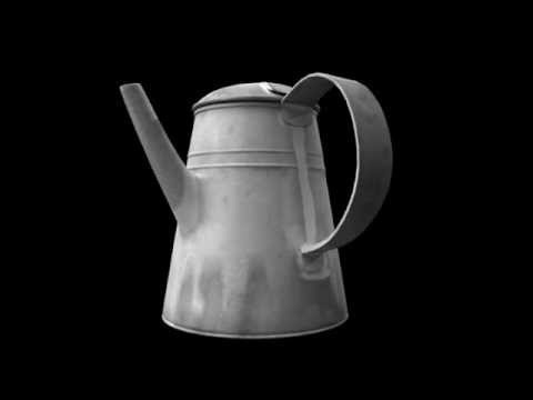 From Paper To Iron Civil War Exhibit: Coffee Pot