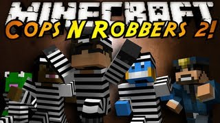 Minecraft Mini-Game : COPS N ROBBERS 2!