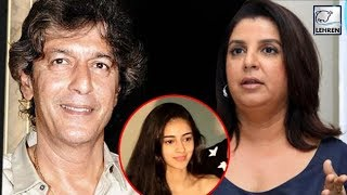 Chunky Pandey REACTS To Farah Khan's Comments On Daughter Ananya | LehrenTV
