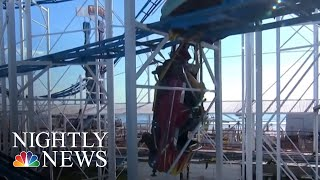 Florida Roller Coaster Derailment Raises Questions About Safety Regulations | NBC Nightly News - NBCNEWS