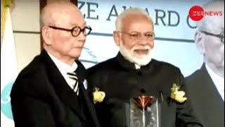 PM Modi awarded Seoul Peace Prize, dedicates it to the nation - ZEENEWS