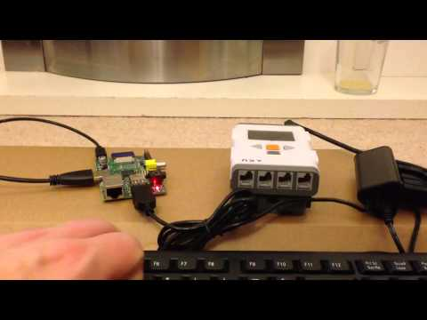 Raspberry Pi controlling the LEGO Mindstorms NXT