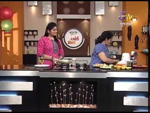 Rasoi Show - રસોઈ શો - કાઠીયાવાડી ઘુત્તો, અલૂ મેથી ચાત & મીની ફલાફલ બુર્ગેર