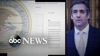 Feds recommend 'substantial prison term' for Michael Cohen - ABCNEWS