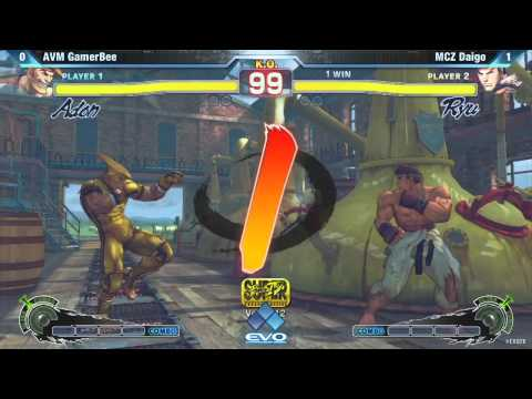 SSF4: AVM GamerBee vs MCZ Daigo Umehara - EVO2K12 Pool Play