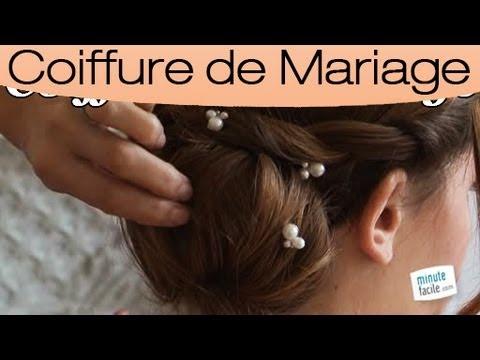 Coiffure : un chignon 2 en 1 pour un mariage