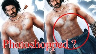 Are Prabhas' abs photoshopped ? | Baahubali 2 first look | SS Rajamouli | Baahubali The Conclusion - IGTELUGU