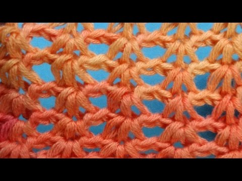 Ажурный узор Openwork crochet pattern  63